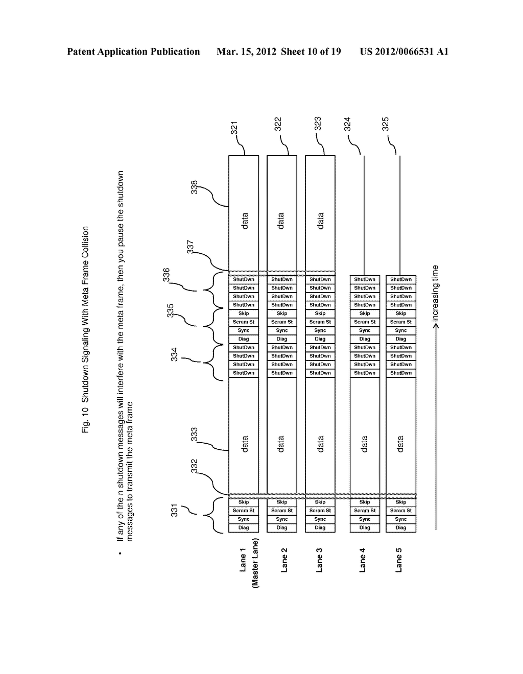 METHOD AND APPARATUS FOR ADAPTIVE POWER CONTROL IN A MULTI-LANE     COMMUNICATION CHANNEL - diagram, schematic, and image 11