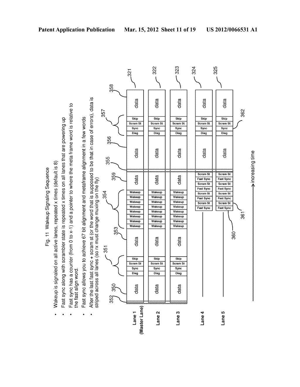 METHOD AND APPARATUS FOR ADAPTIVE POWER CONTROL IN A MULTI-LANE     COMMUNICATION CHANNEL - diagram, schematic, and image 12