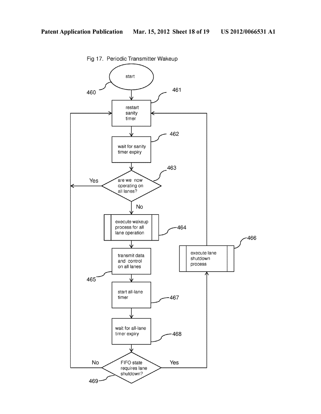 METHOD AND APPARATUS FOR ADAPTIVE POWER CONTROL IN A MULTI-LANE     COMMUNICATION CHANNEL - diagram, schematic, and image 19