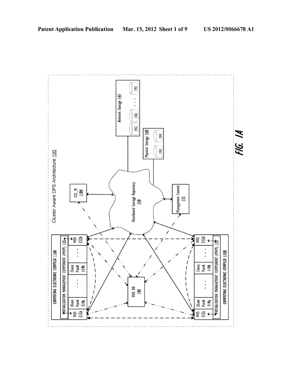 CLUSTER-AWARE VIRTUAL INPUT/OUTPUT SERVER - diagram, schematic, and image 02