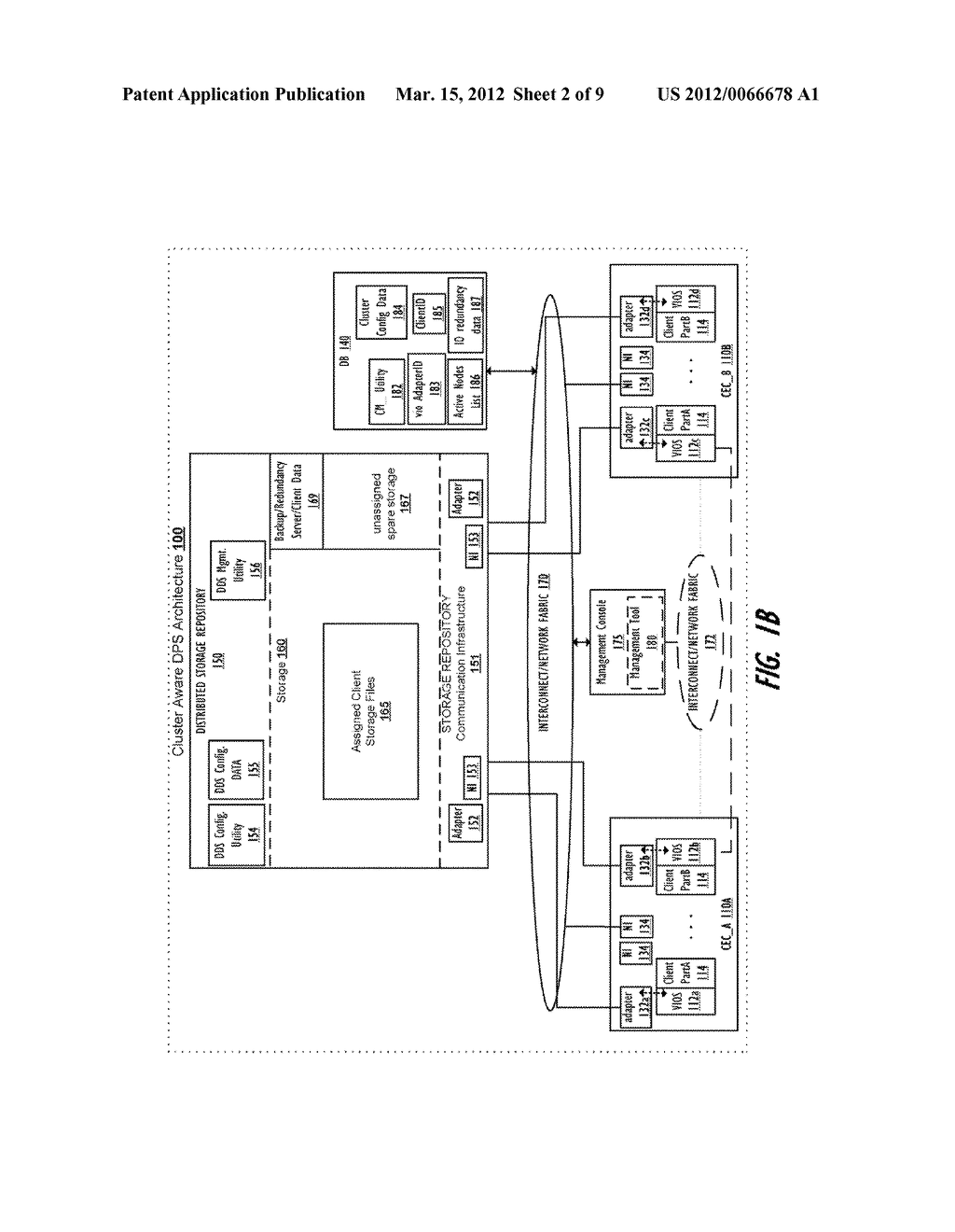 CLUSTER-AWARE VIRTUAL INPUT/OUTPUT SERVER - diagram, schematic, and image 03