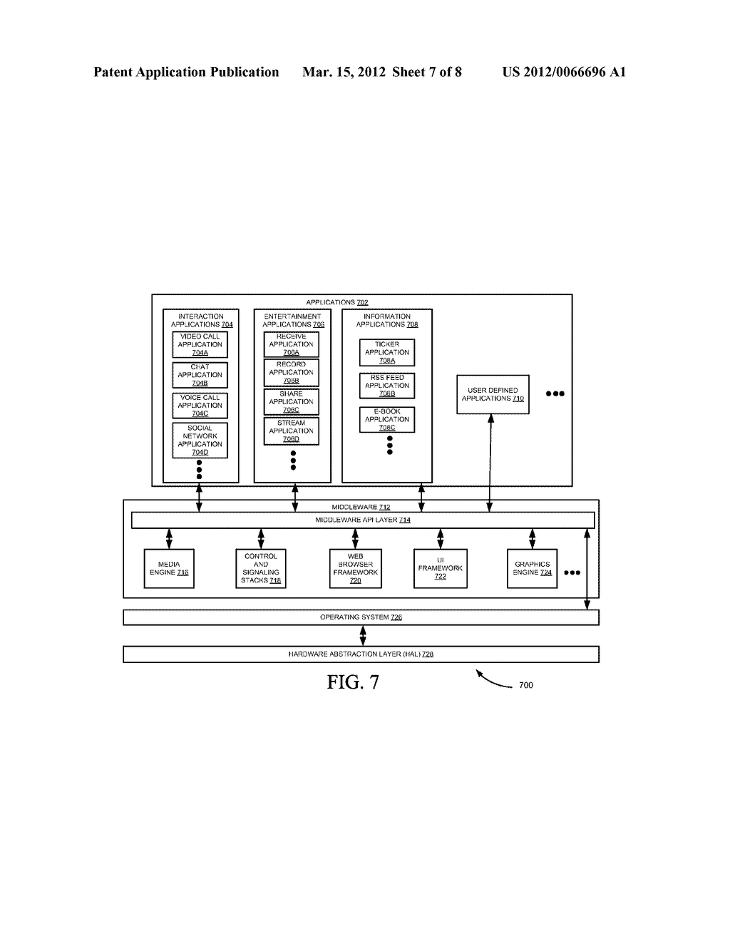 Generic Hardware And Software Platform For Electronic Devices In Engine Diagram Multimedia Graphics Computing Applications Schematic Image 08