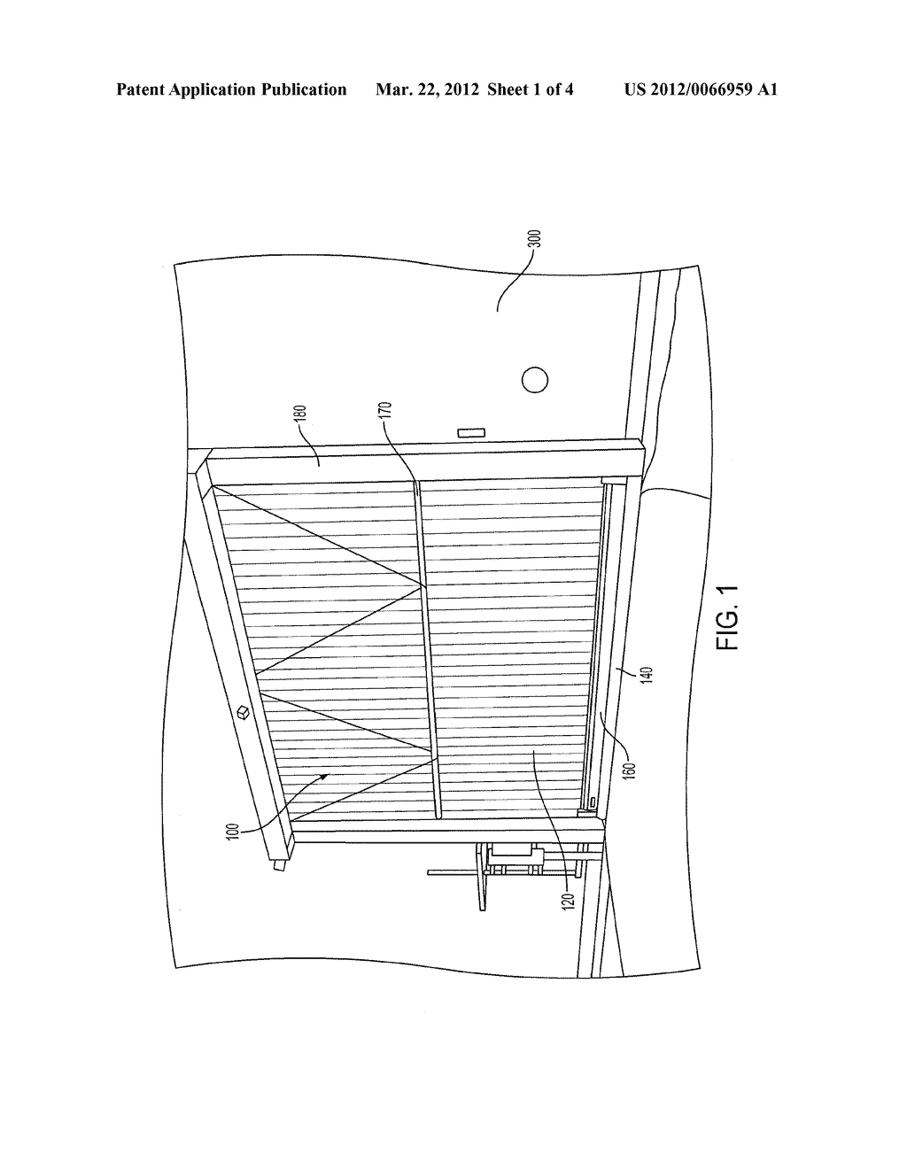 DOOR ASSEMBLY FOR A TOBACCO STORAGE FACILTY, AND ASSOCIATED APPARATUS AND     METHOD - diagram, schematic, and image 02