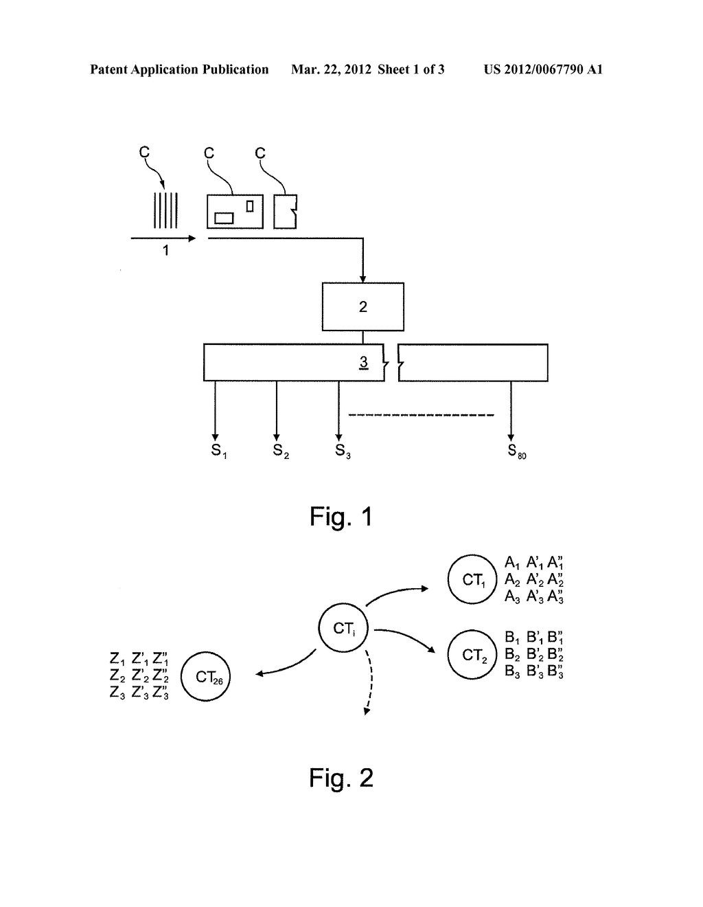 Method of Optimizing a Process For Handling and Transporting Mail in Bins     Using Layered Sorting - diagram, schematic, and image 02