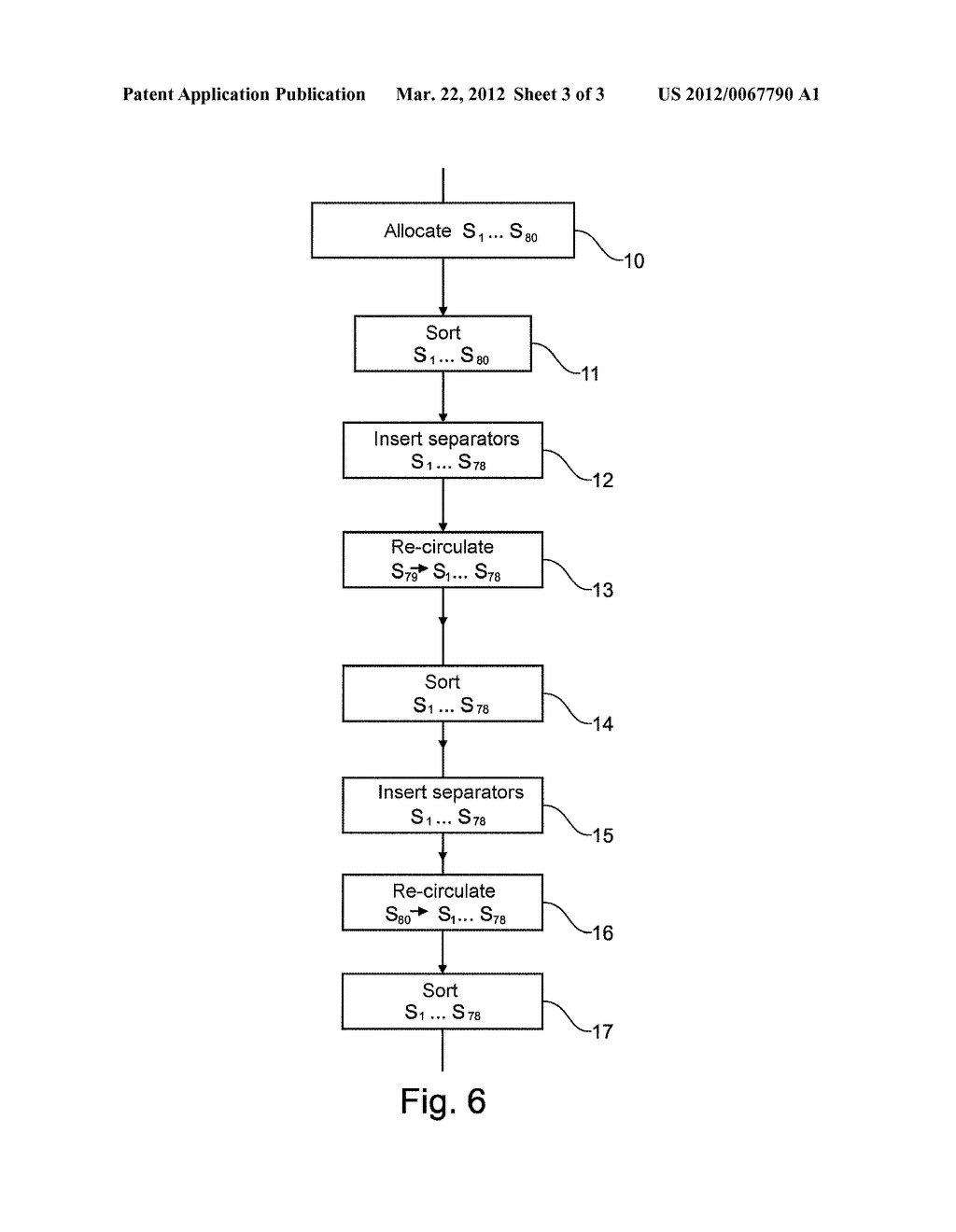 Method of Optimizing a Process For Handling and Transporting Mail in Bins     Using Layered Sorting - diagram, schematic, and image 04