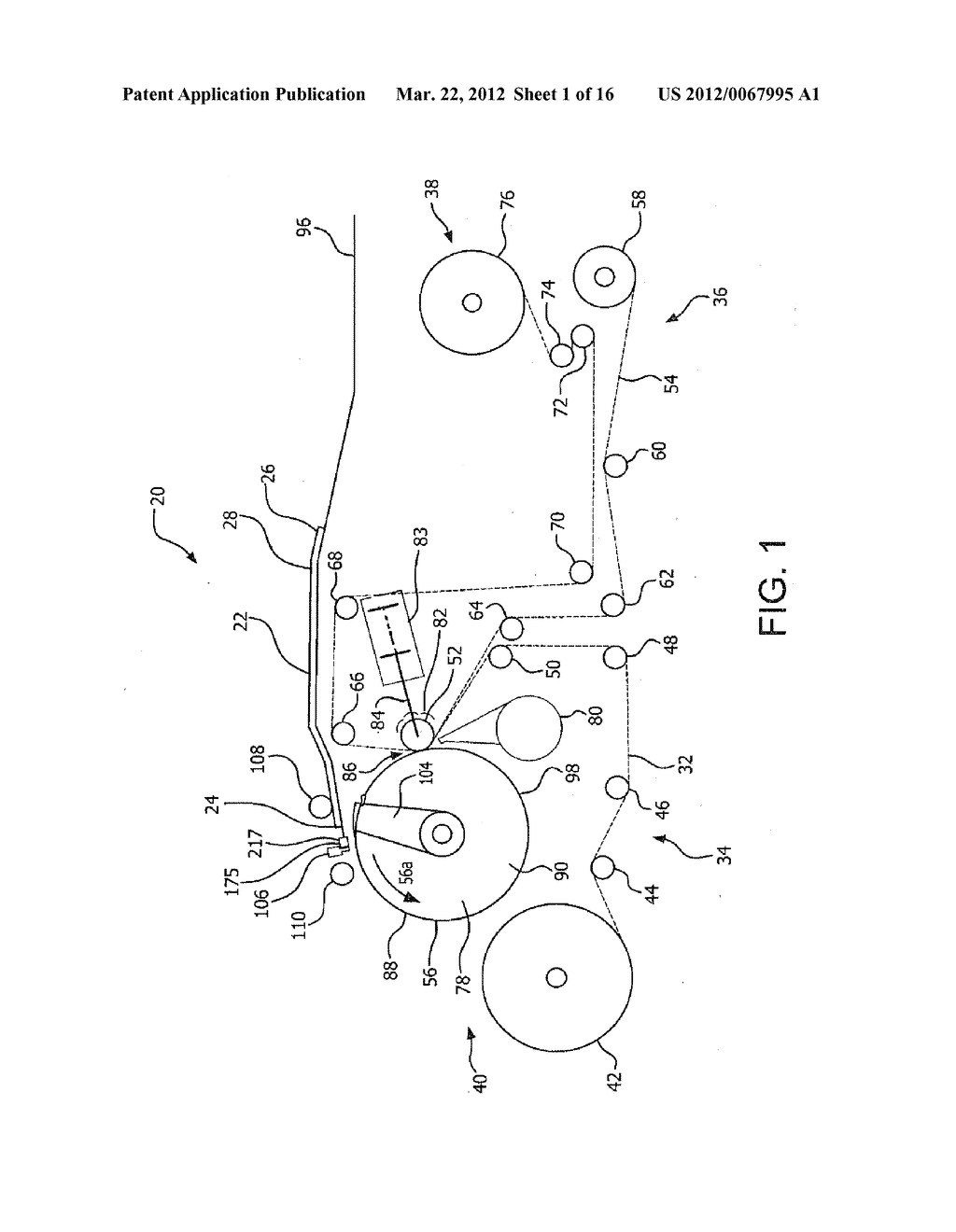 METHOD AND APPARATUS FOR TENSIONING A PRINTING FORM - diagram, schematic, and image 02