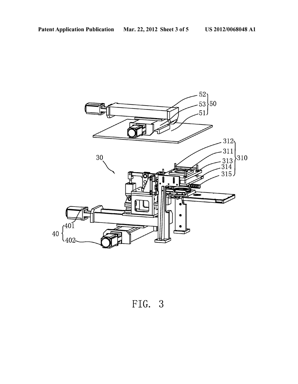 METHOD AND APPARATUS FOR ADJUSTING AND TESTING AN IMAGE SENSOR MODULE - diagram, schematic, and image 04