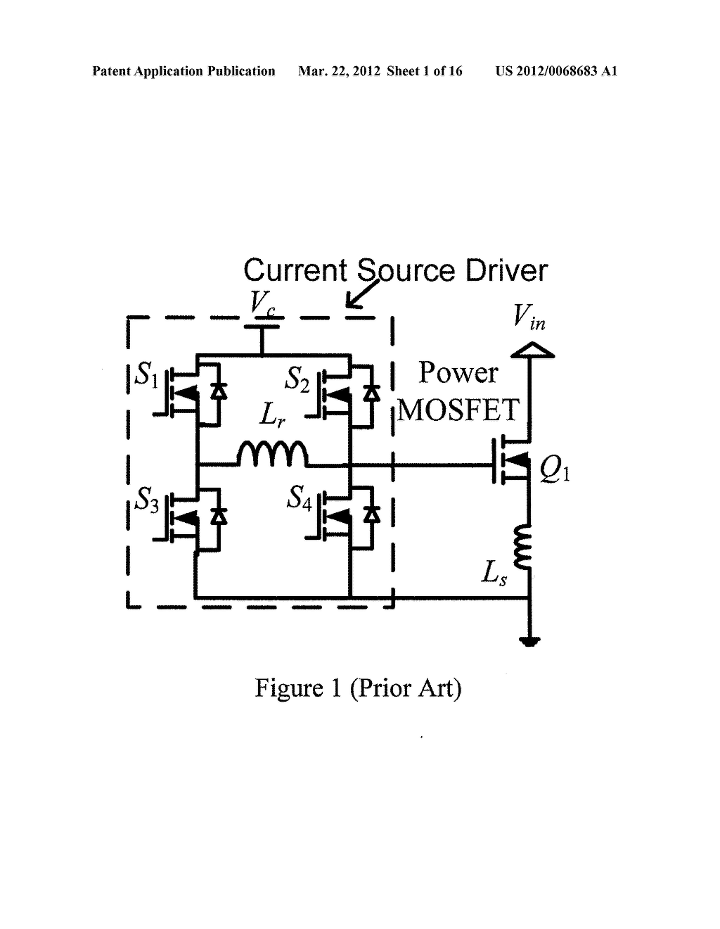 Current Source Gate Driver with Negative Gate Voltage - diagram ...