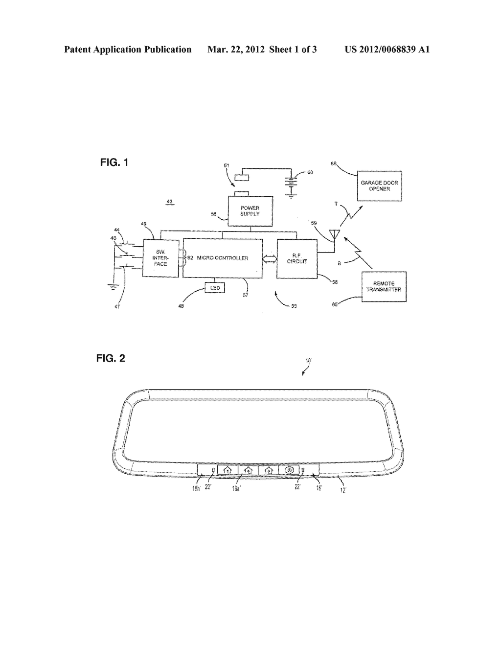 INTERIOR REARVIEW MIRROR ASSEMBLY WITH INTEGRATED INDICATOR SYMBOL - diagram, schematic, and image 02