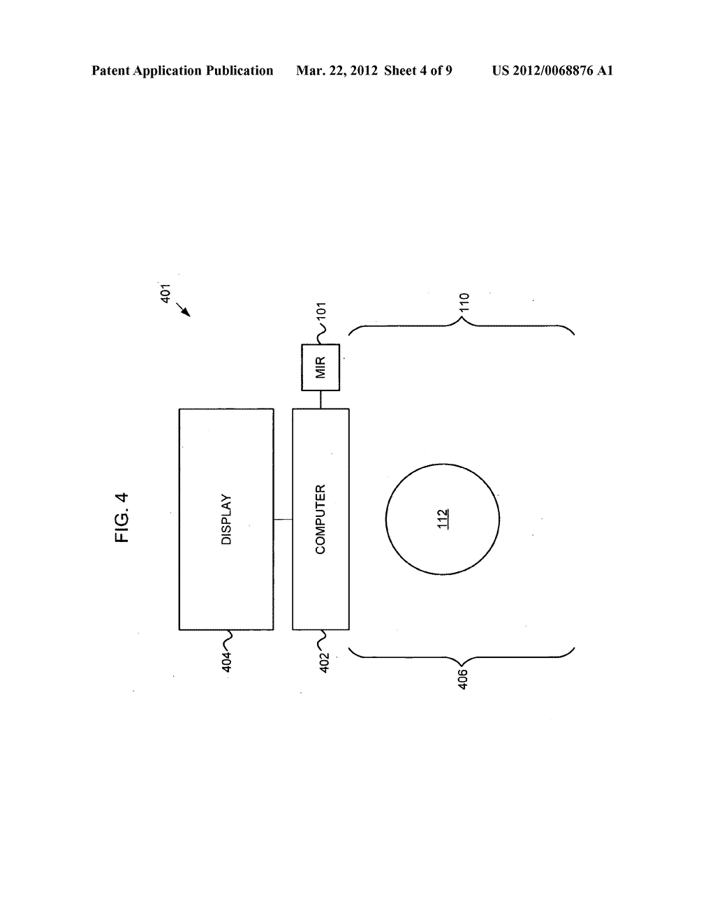 Control of an electronic apparatus using micro-impulse radar - diagram, schematic, and image 05