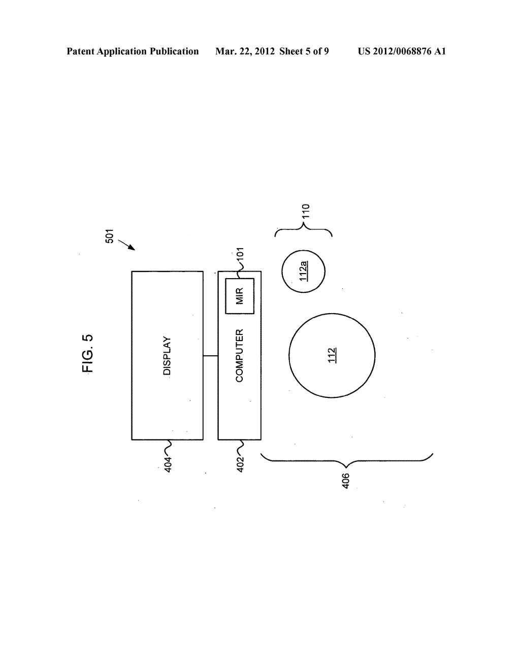 Control of an electronic apparatus using micro-impulse radar - diagram, schematic, and image 06