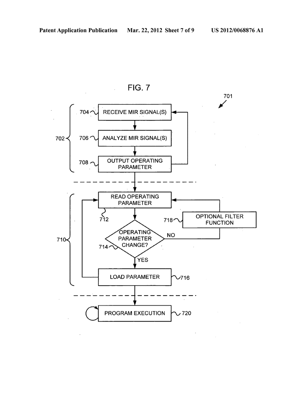 Control of an electronic apparatus using micro-impulse radar - diagram, schematic, and image 08
