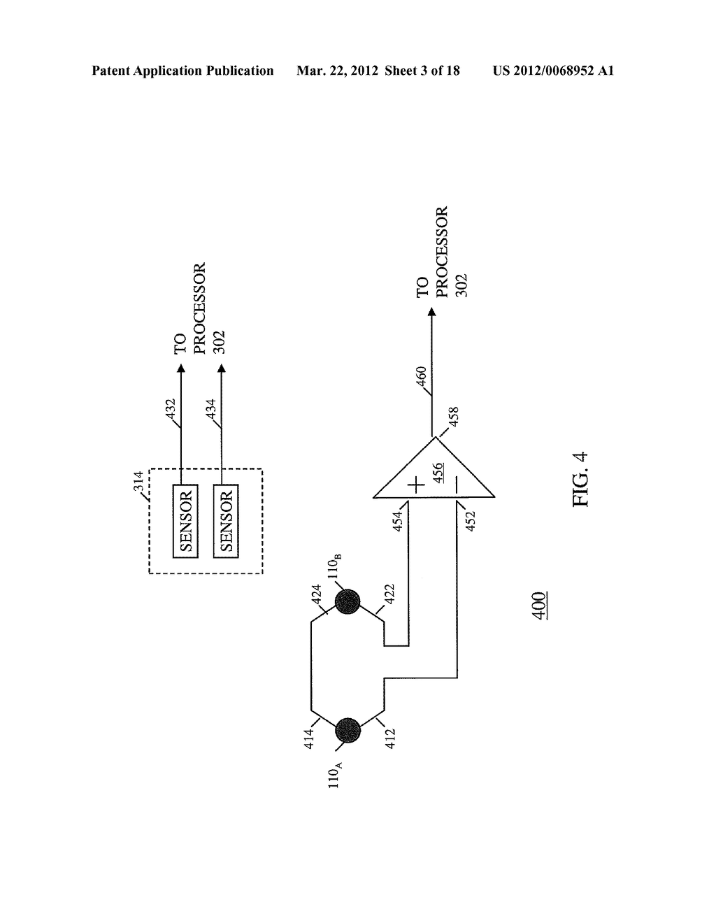 USER COMPUTER DEVICE WITH TEMPERATURE SENSING CAPABILITIES AND METHOD OF     OPERATING SAME - diagram, schematic, and image 04