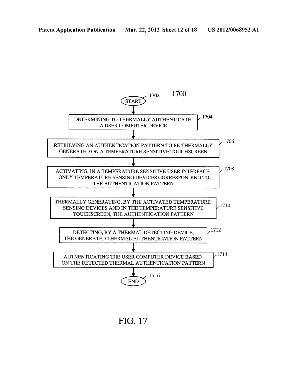 USER COMPUTER DEVICE WITH TEMPERATURE SENSING CAPABILITIES AND METHOD OF     OPERATING SAME - diagram, schematic, and image 13