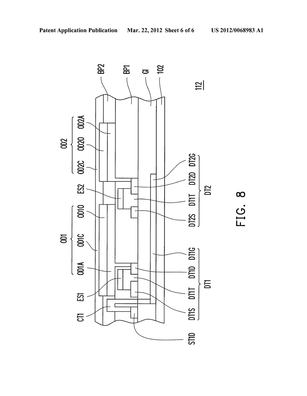 SWITCHABLE ORGANIC ELECTRO- LUMINESCENCE DISPLAY PANEL AND SWITCHABLE     ORGANIC ELECTRO-LUMINESCENCE DISPLAY CIRCUIT - diagram, schematic, and image 07