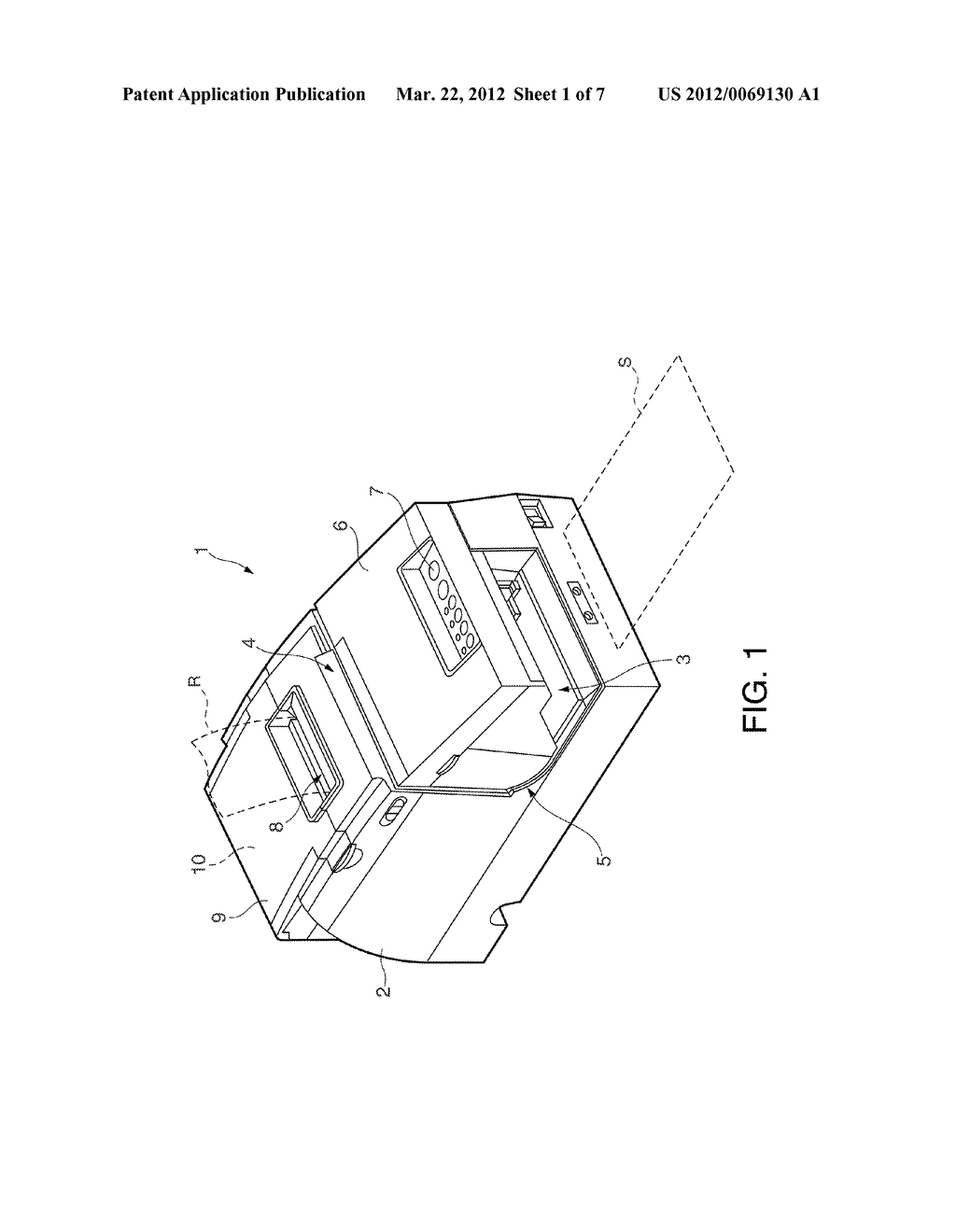 MEDIA PROCESSING DEVICE, AND CONTROL METHOD FOR A MEDIA PROCESSING DEVICE - diagram, schematic, and image 02
