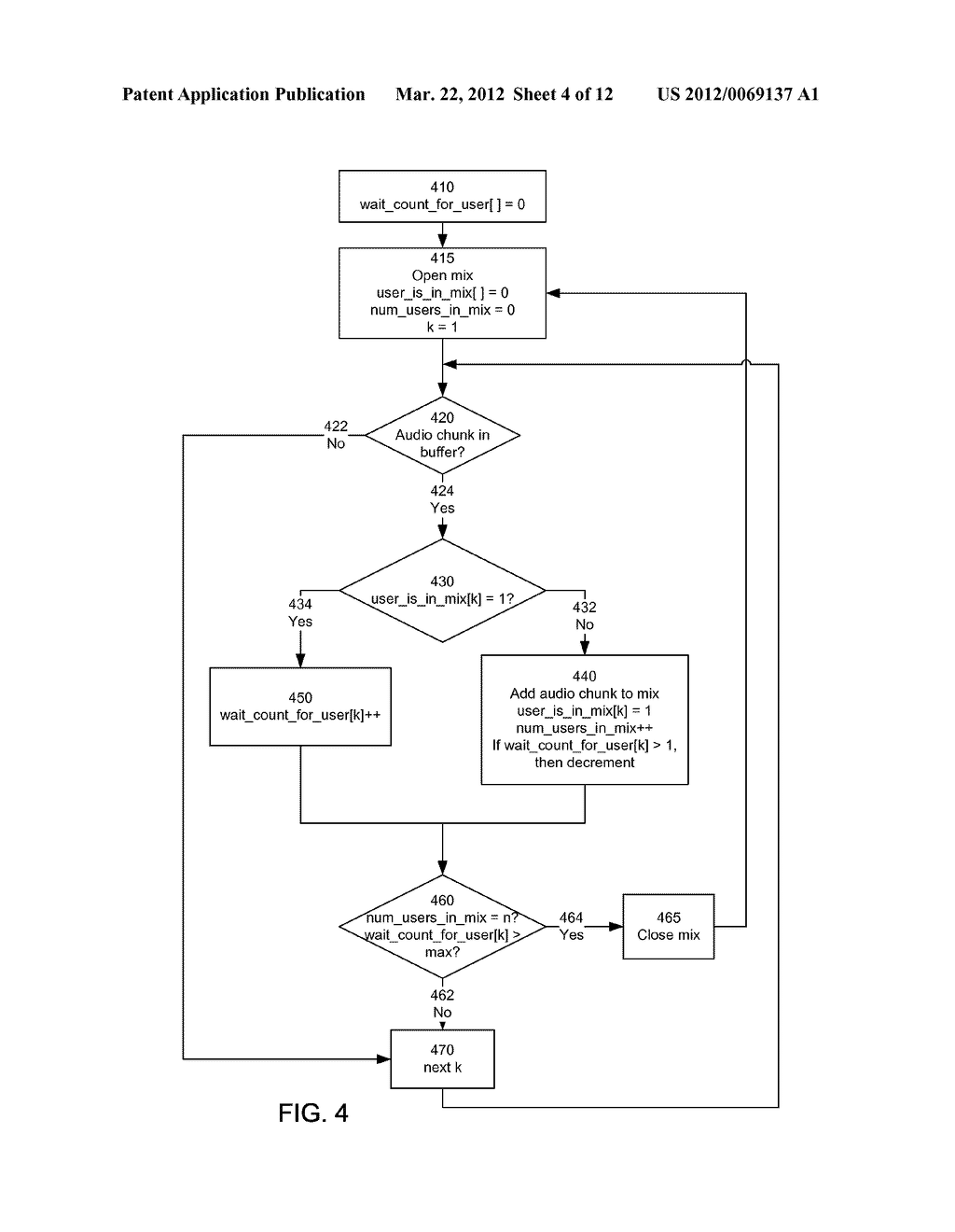 Synchronization and Mixing of Audio and Video Streams in Network-Based     Video Conferencing Call Systems - diagram, schematic, and image 05