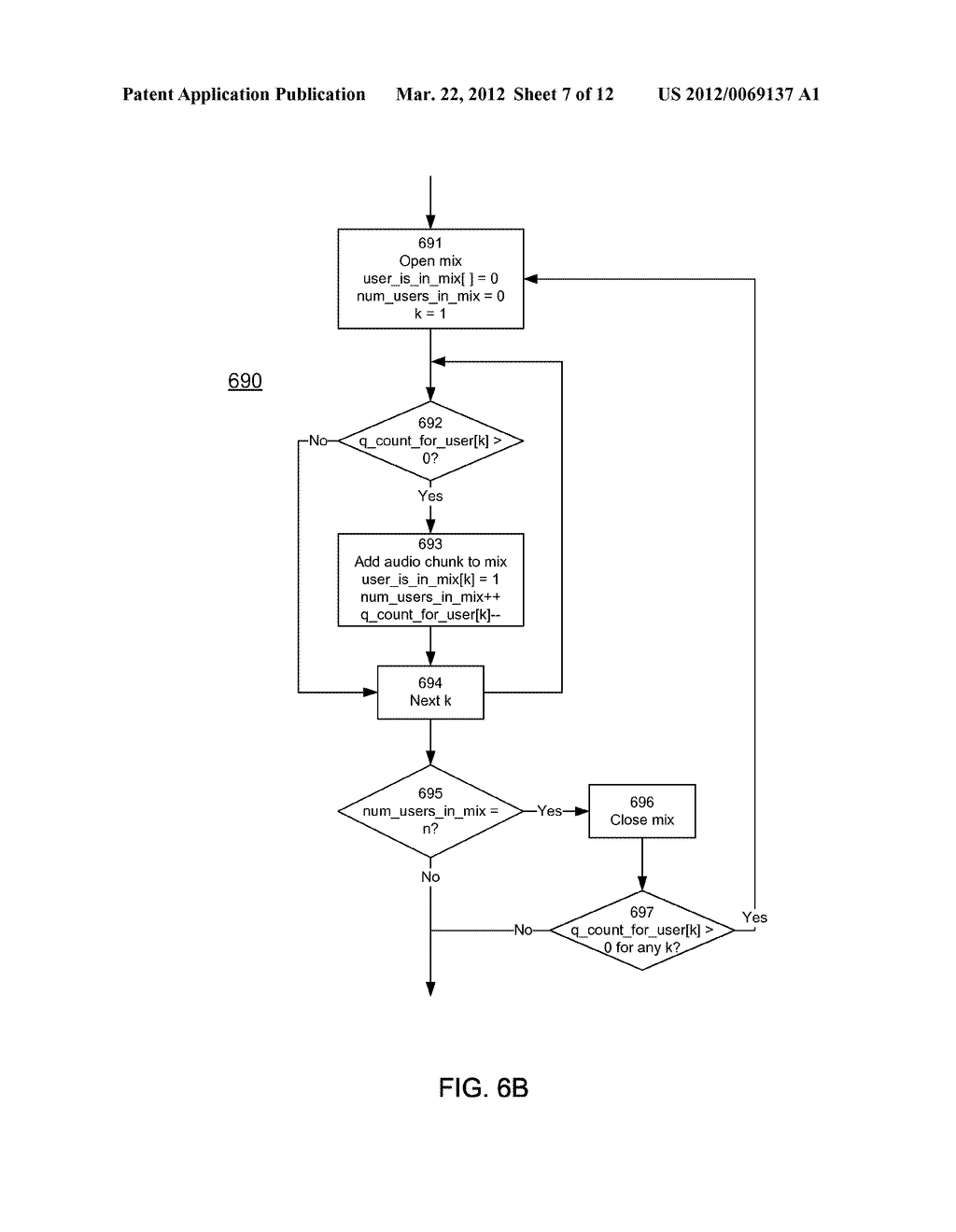 Synchronization and Mixing of Audio and Video Streams in Network-Based     Video Conferencing Call Systems - diagram, schematic, and image 08