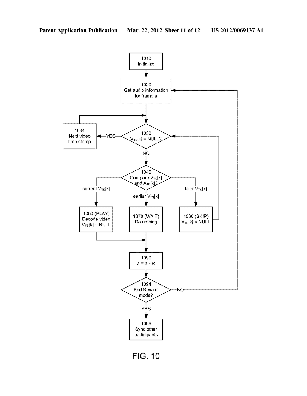 Synchronization and Mixing of Audio and Video Streams in Network-Based     Video Conferencing Call Systems - diagram, schematic, and image 12