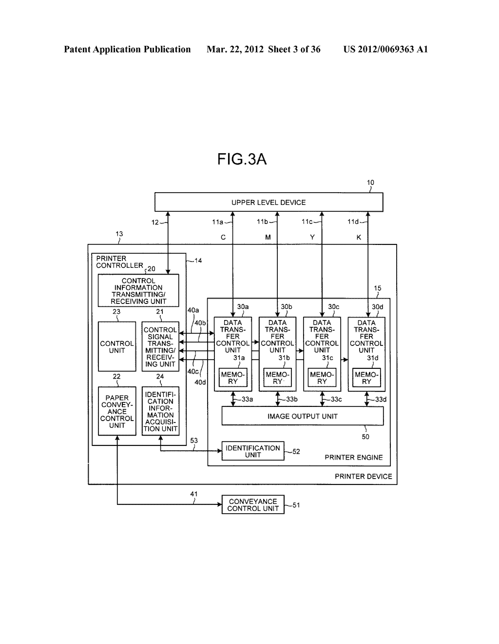 PRINTING DEVICE AND METHOD OF CONTROLLING PRINTING DEVICE - diagram, schematic, and image 04