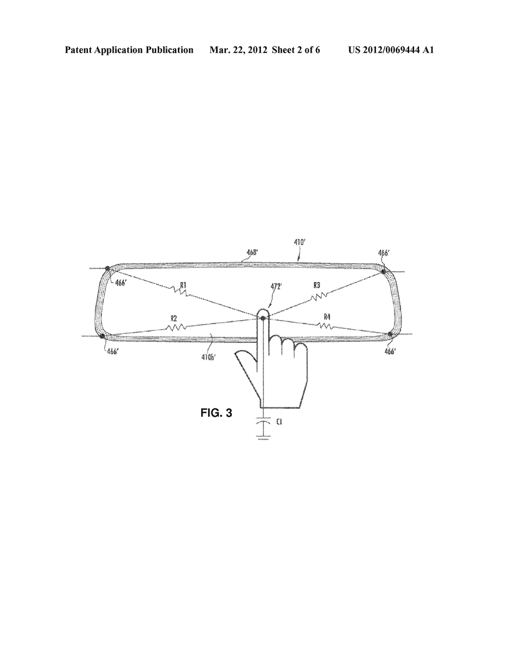 INTERIOR REARVIEW MIRROR ASSEMBLY WITH INTEGRATED INDICATOR SYMBOL - diagram, schematic, and image 03