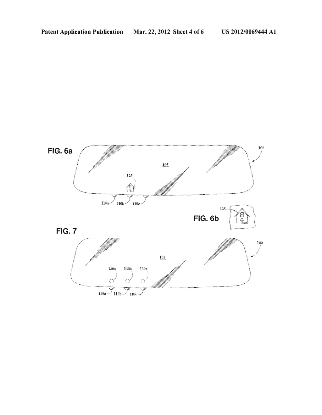 INTERIOR REARVIEW MIRROR ASSEMBLY WITH INTEGRATED INDICATOR SYMBOL - diagram, schematic, and image 05