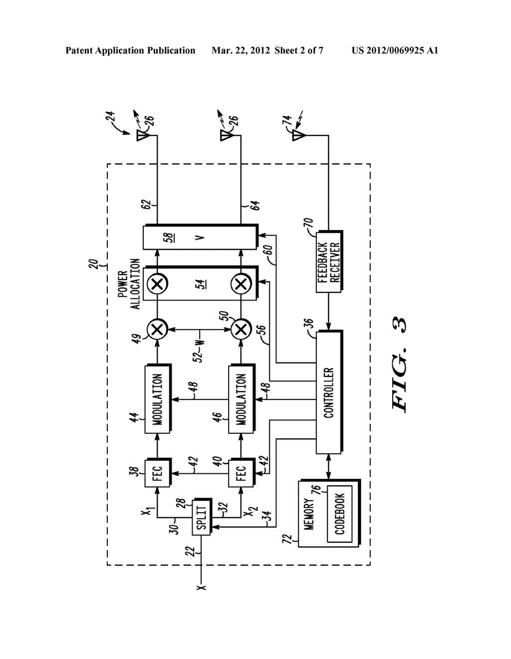 METHOD AND APPARATUS FOR FEEDBACK IN CLOSED LOOP TRANSMITTING - diagram, schematic, and image 03