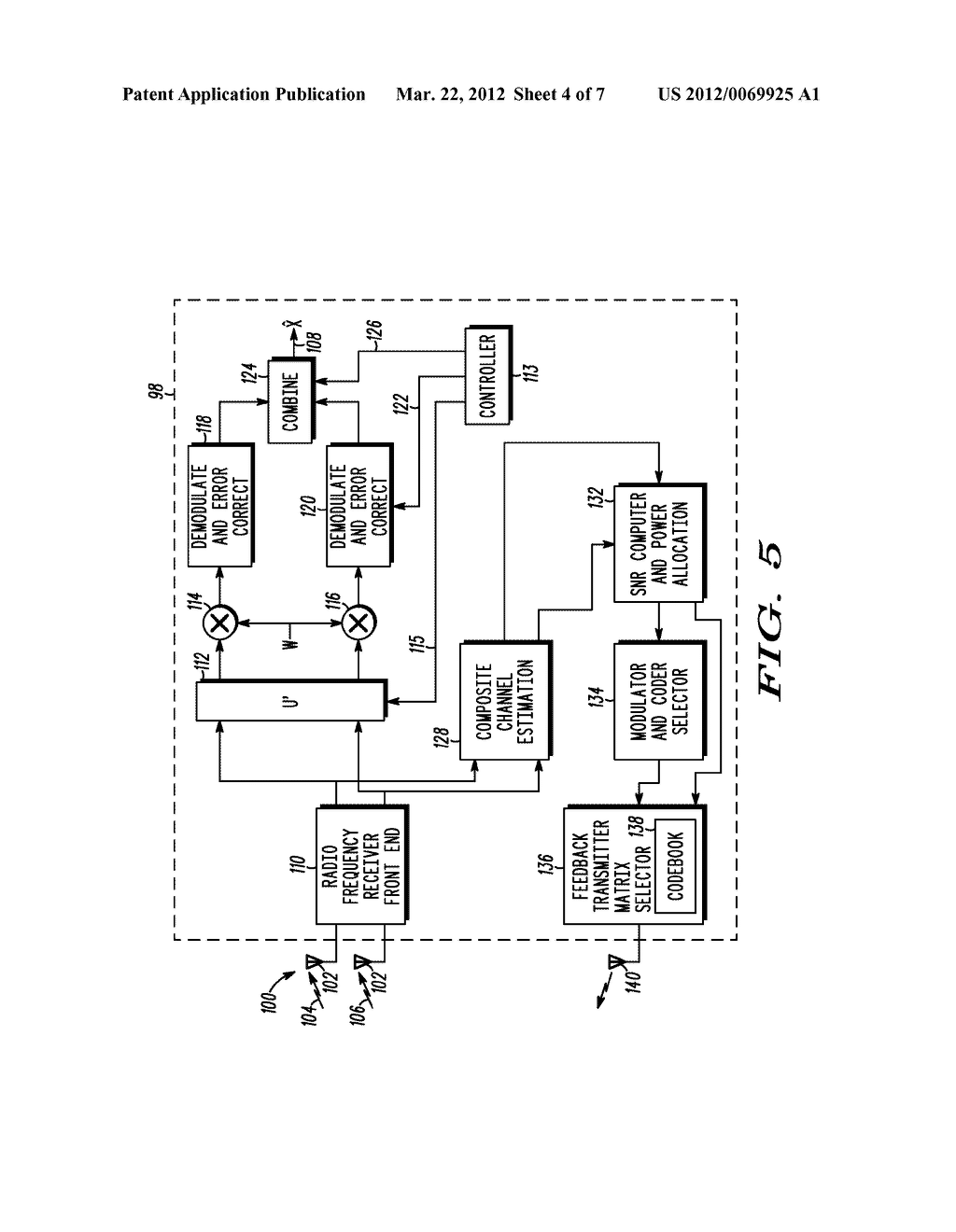 METHOD AND APPARATUS FOR FEEDBACK IN CLOSED LOOP TRANSMITTING - diagram, schematic, and image 05