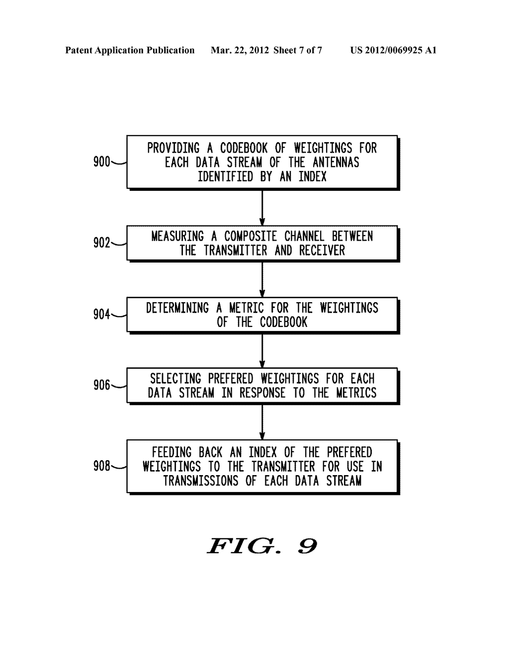 METHOD AND APPARATUS FOR FEEDBACK IN CLOSED LOOP TRANSMITTING - diagram, schematic, and image 08