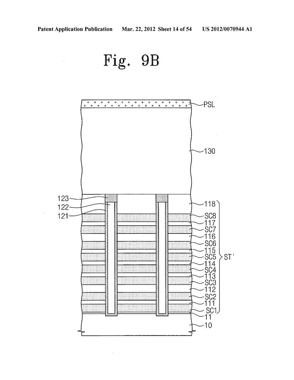 Methods of Manufacturing Three Dimensional Semiconductor Devices - diagram, schematic, and image 15