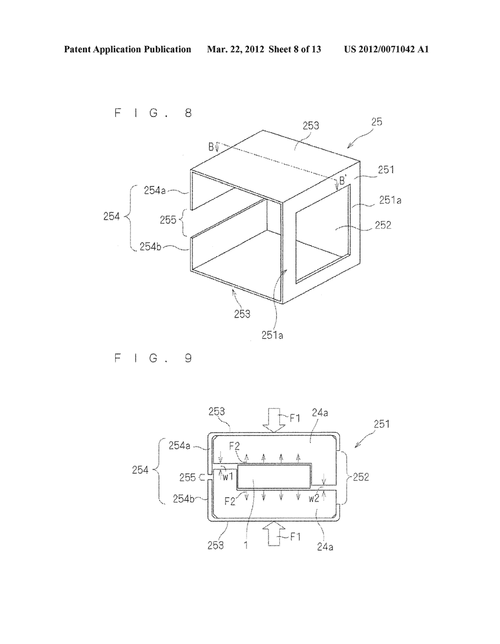 CONTACT MEMBER FOR A GAS SENSOR, METHOD FOR CONNECTING A CONTACT MEMBER     WITH A SENSOR ELEMENT IN A GAS SENSOR, AND METHOD FOR MANUFACTURING A GAS     SENSOR - diagram, schematic, and image 09