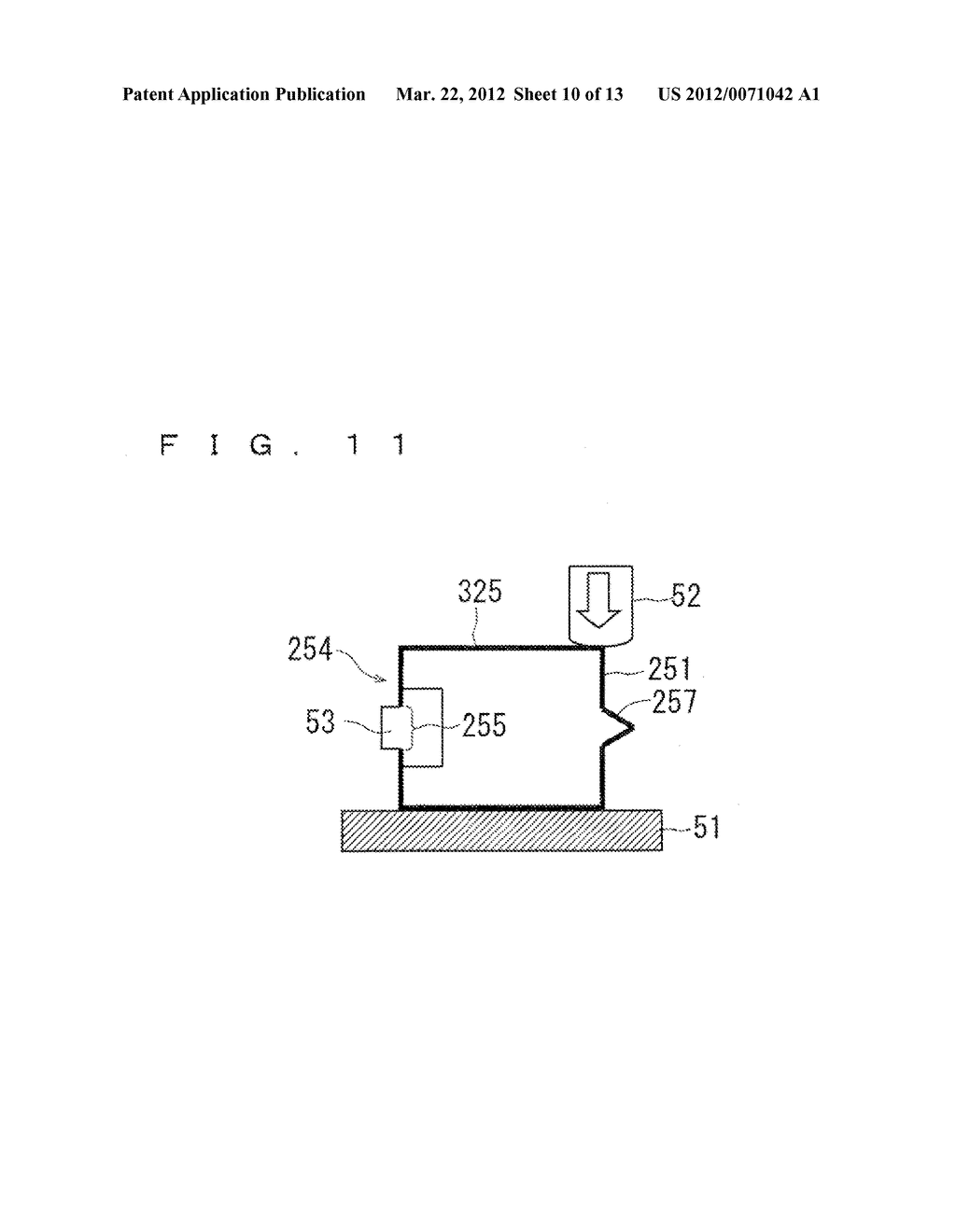 CONTACT MEMBER FOR A GAS SENSOR, METHOD FOR CONNECTING A CONTACT MEMBER     WITH A SENSOR ELEMENT IN A GAS SENSOR, AND METHOD FOR MANUFACTURING A GAS     SENSOR - diagram, schematic, and image 11