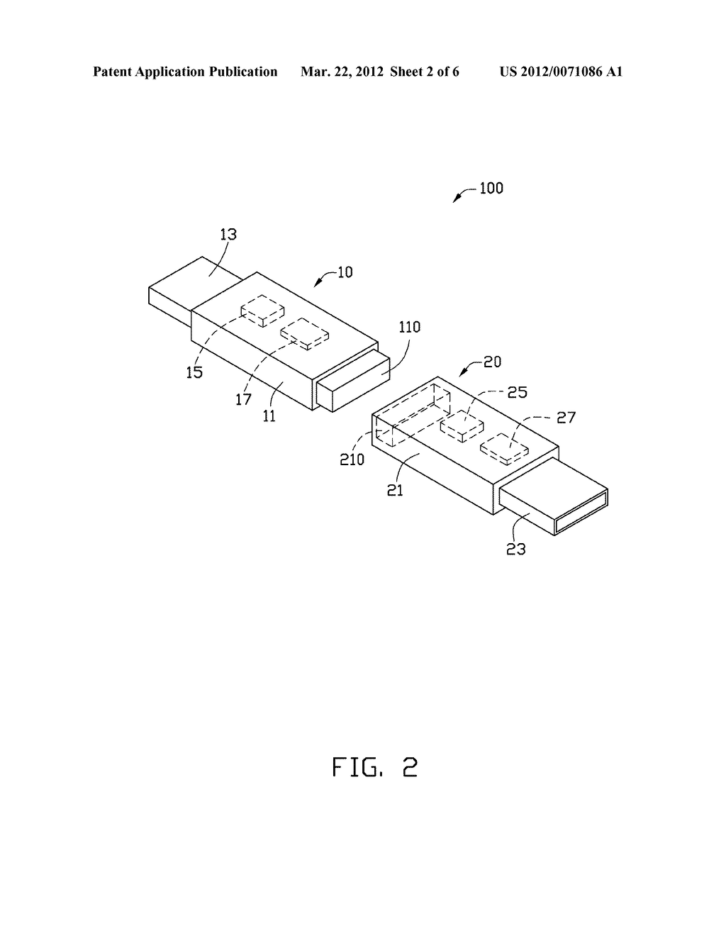 ELECTRONIC EQUIPMENT WITH SEPARABLE COMMUNICATIONS ELEMENTS AND ELECTRONIC     SYSTEM HAVING THE SAME - diagram, schematic, and image 03