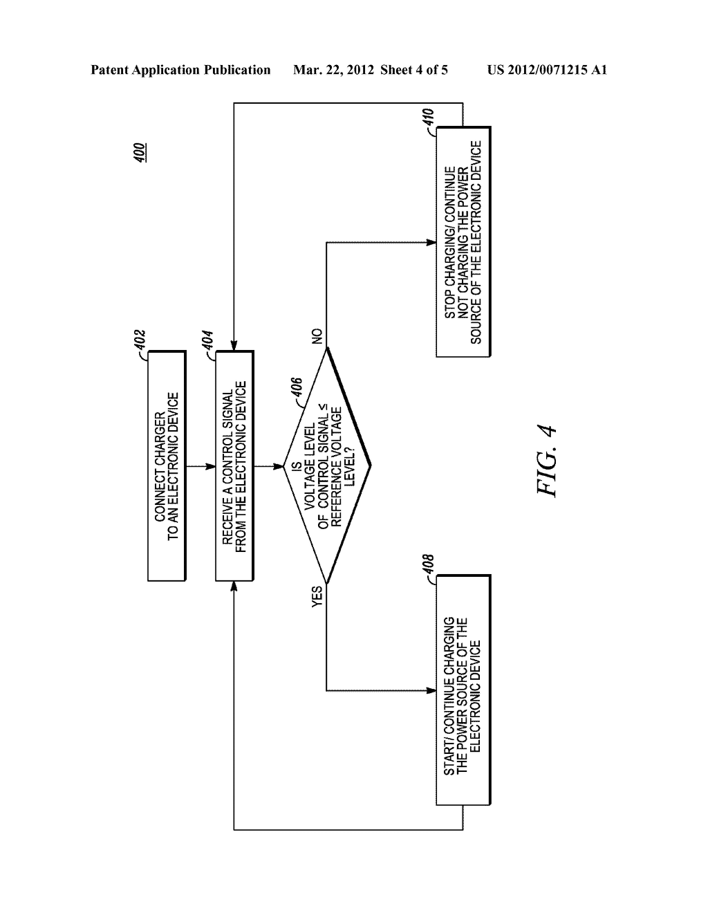 Method and Apparatus for Controlling a Smart Phone Charger - diagram, schematic, and image 05