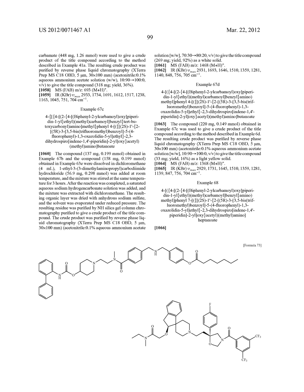 AMIDE DERIVATIVE - diagram, schematic, and image 100