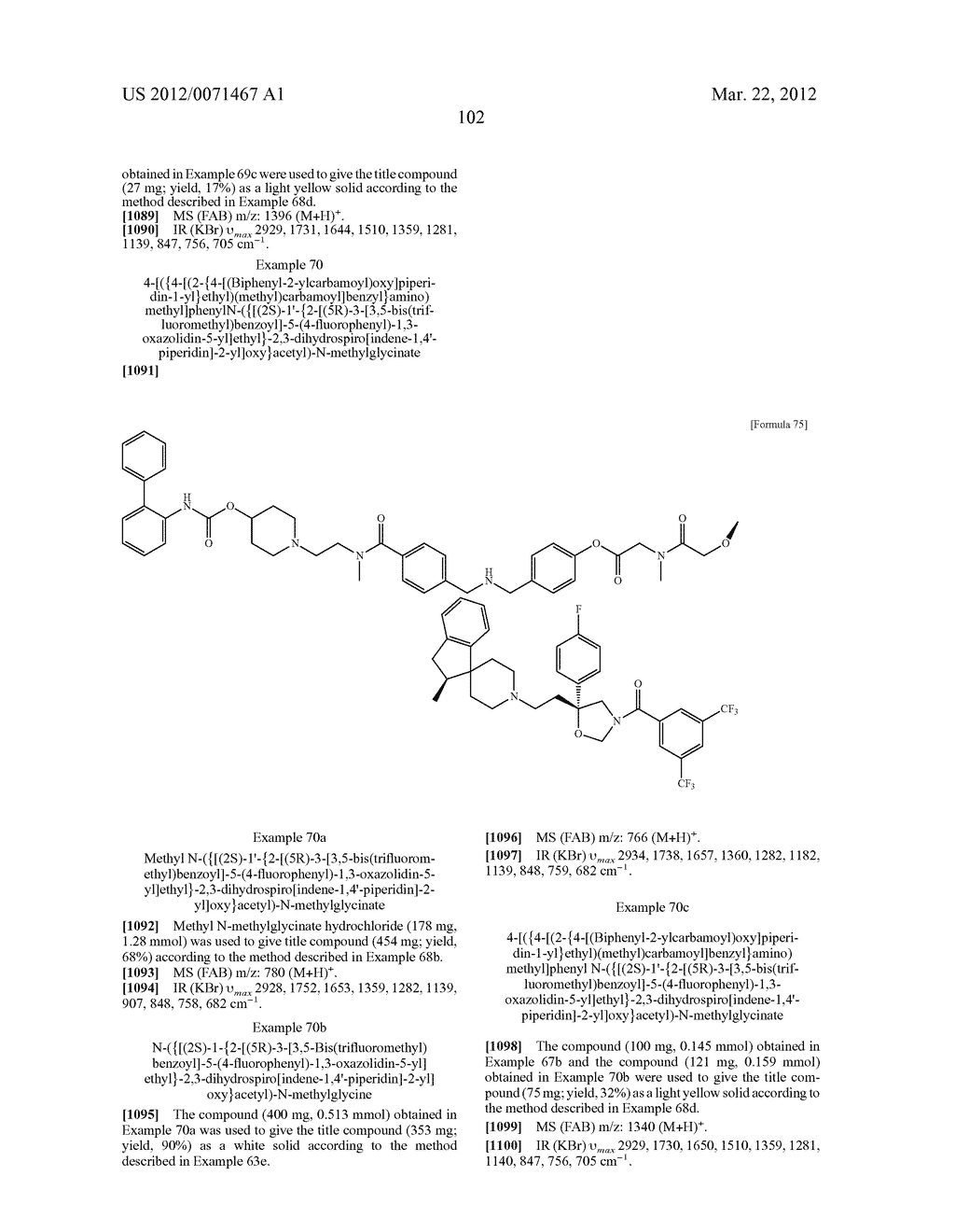 AMIDE DERIVATIVE - diagram, schematic, and image 103