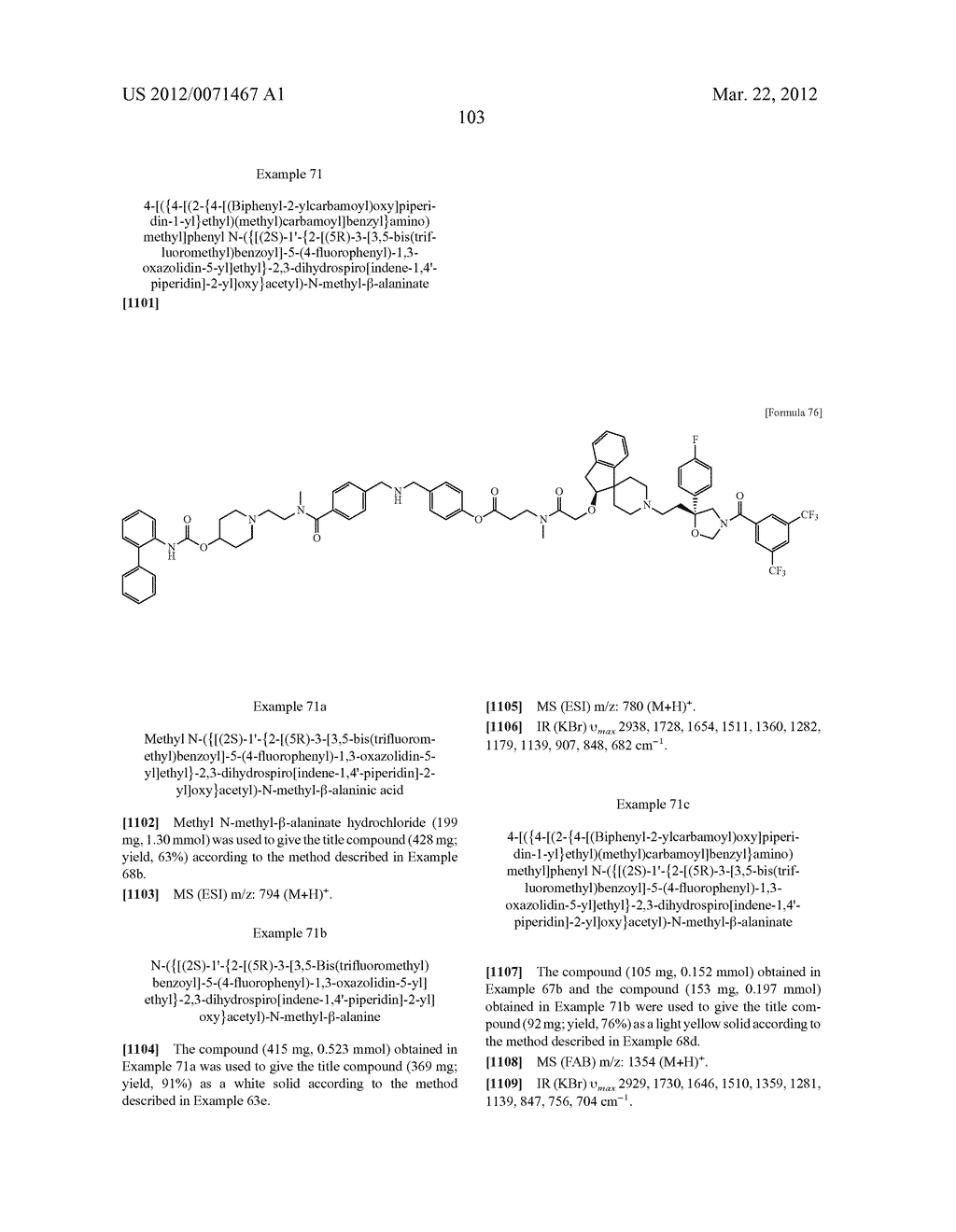 AMIDE DERIVATIVE - diagram, schematic, and image 104