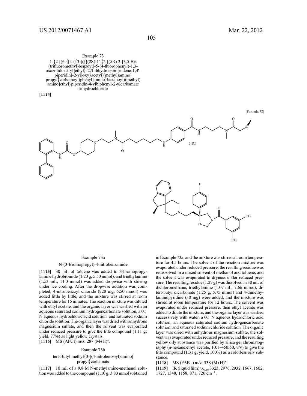 AMIDE DERIVATIVE - diagram, schematic, and image 106