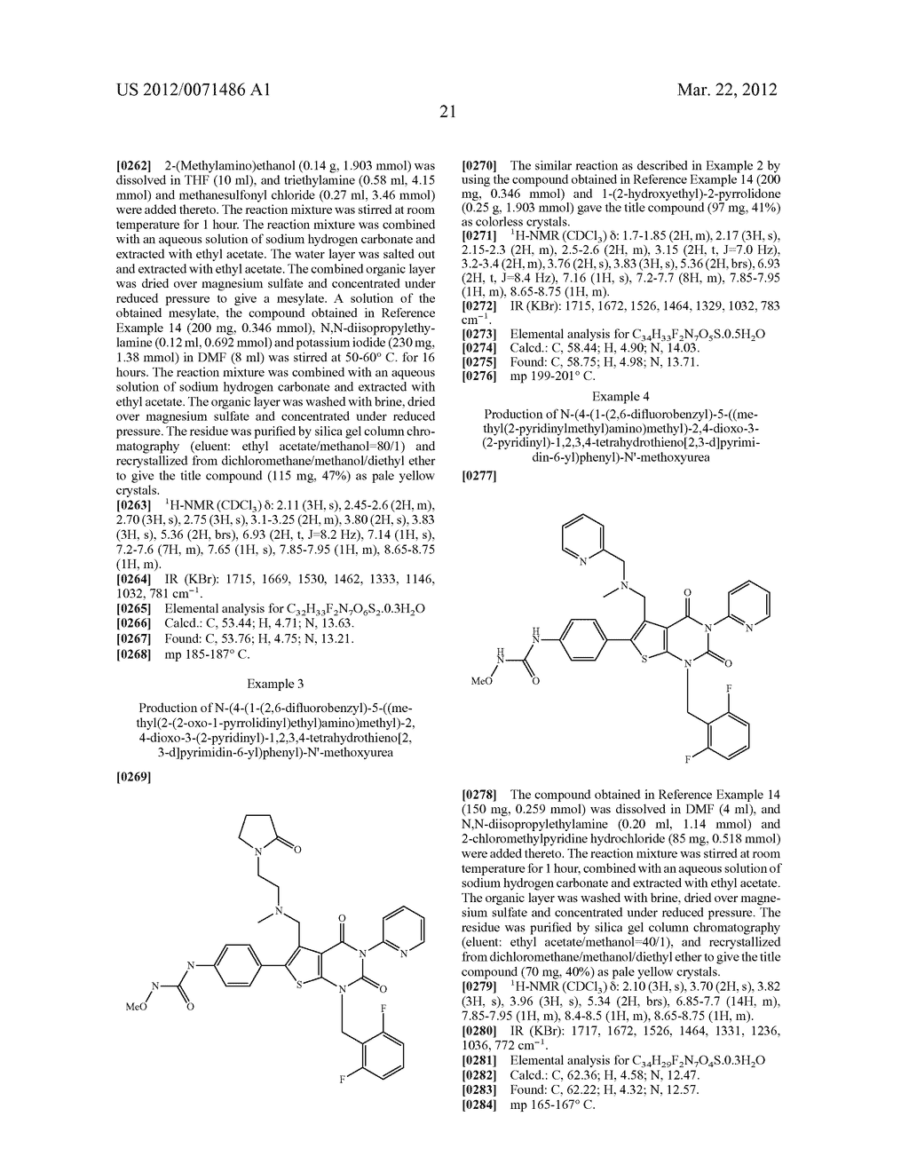 THIENOPYRIMIDINE COMPOUNDS AND USE THEREOF - diagram, schematic, and image 22