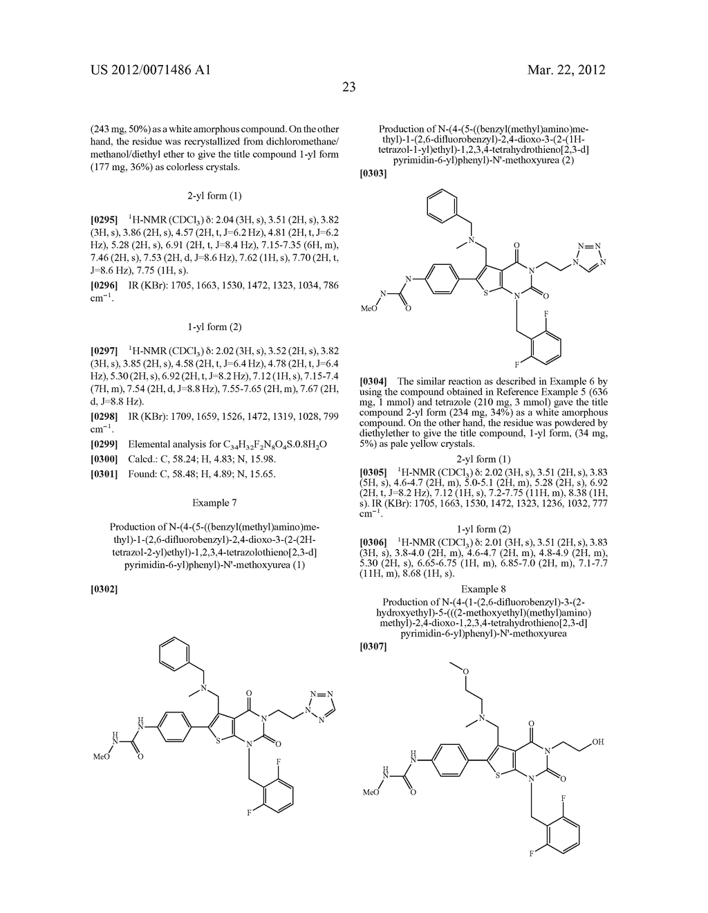 THIENOPYRIMIDINE COMPOUNDS AND USE THEREOF - diagram, schematic, and image 24