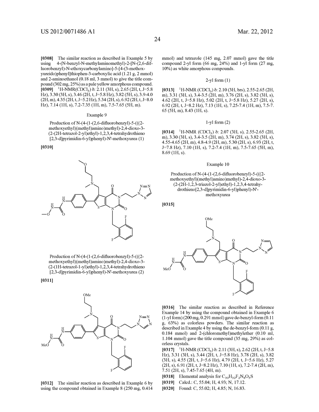 THIENOPYRIMIDINE COMPOUNDS AND USE THEREOF - diagram, schematic, and image 25