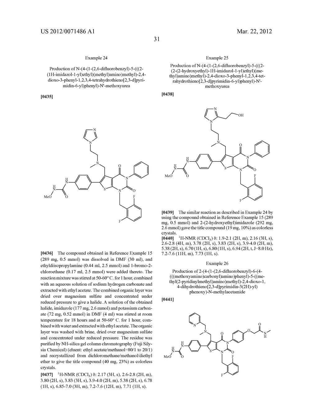 THIENOPYRIMIDINE COMPOUNDS AND USE THEREOF - diagram, schematic, and image 32