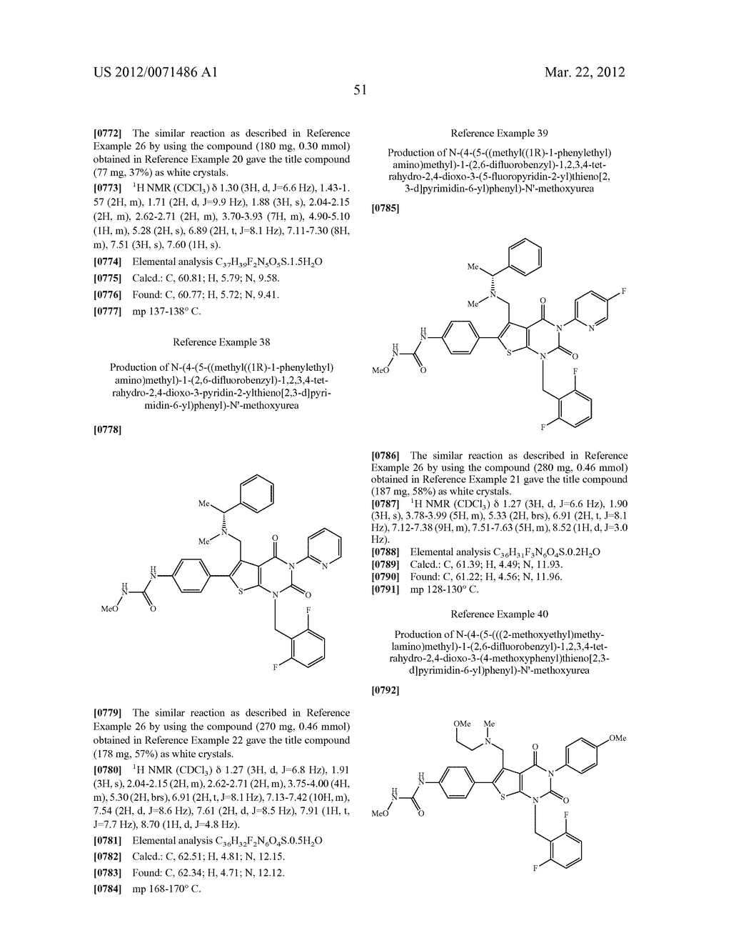 THIENOPYRIMIDINE COMPOUNDS AND USE THEREOF - diagram, schematic, and image 52
