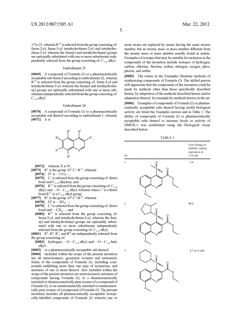 SUBSTITUTED PYRIDINE DERIVATIVES, PHARMACEUTICAL COMPOSITIONS, AND METHODS     OF USE TO TREAT OXIDATIVE STRESS - diagram, schematic, and image 06