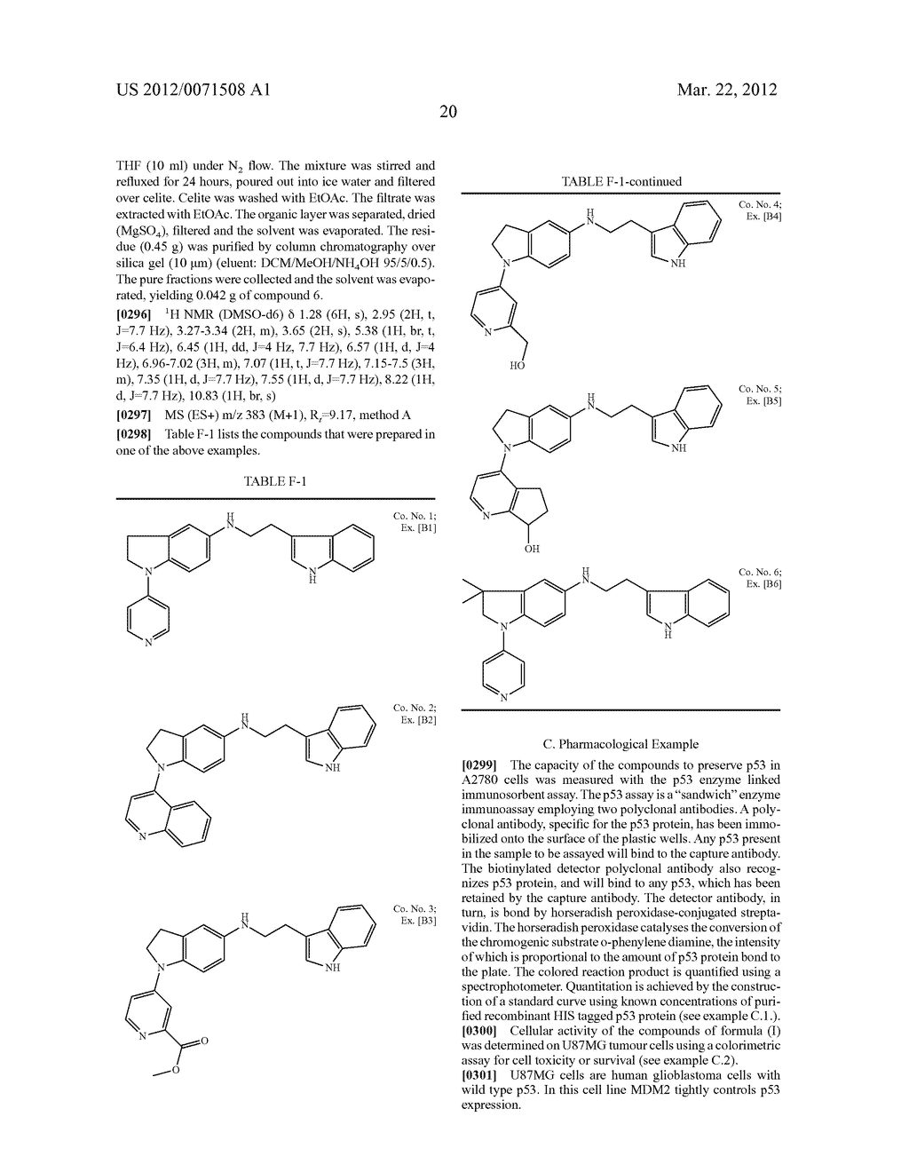 CYCLIC-ALKYLAMINE DERIVATIVES AS INHIBITORS OF THE INTERACTION BETWEEN     MDM2 AND P53 - diagram, schematic, and image 21