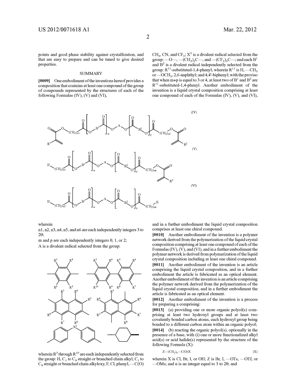 LIQUID CRYSTAL COMPOSITIONS - diagram, schematic, and image 04