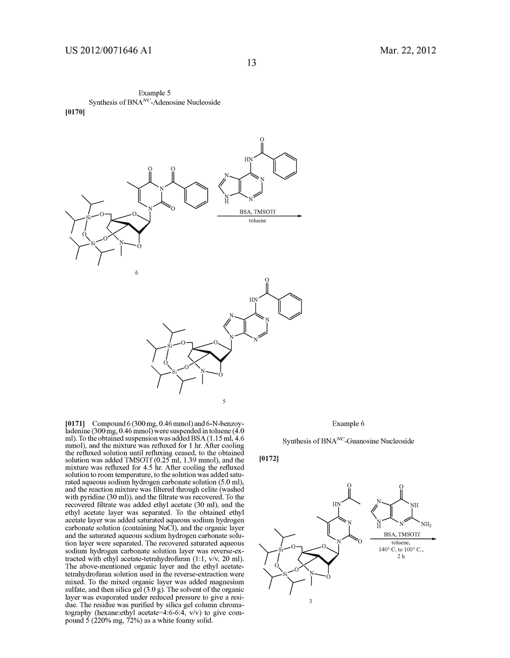 PROCESS FOR PRODUCING NUCLEOSIDE - diagram, schematic, and image 14