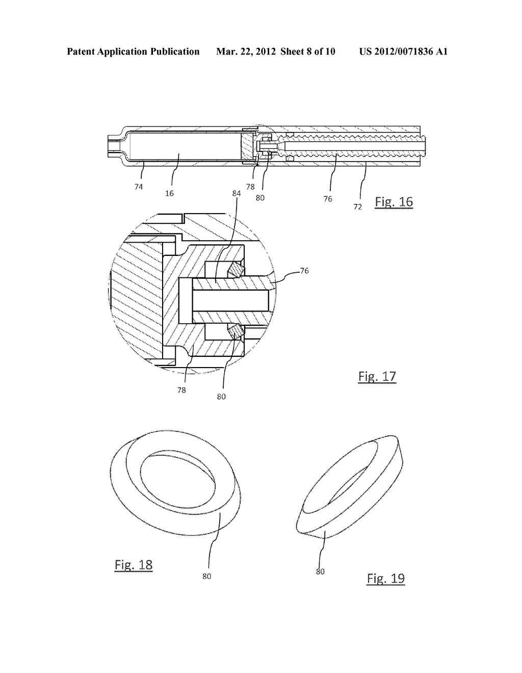 DRIVE MECHANISM FOR A DRUG DELIVERY DEVICE - diagram, schematic, and image 09