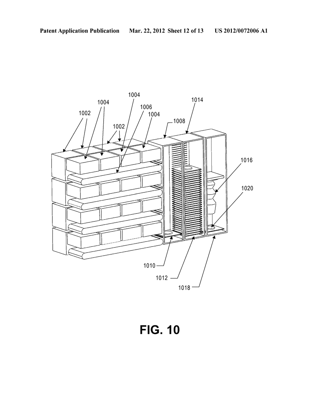 SYSTEM AND METHOD FOR RAPID FABRICATION OF ARBITRARY THREE-DIMENSIONAL     OBJECTS - diagram, schematic, and image 13