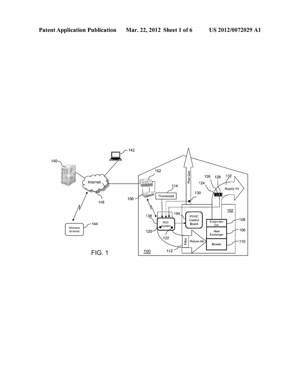 INTELLIGENT SYSTEM AND METHOD FOR DETECTING AND DIAGNOSING FAULTS IN     HEATING, VENTILATING AND AIR CONDITIONING (HVAC) EQUIPMENT - diagram, schematic, and image 02